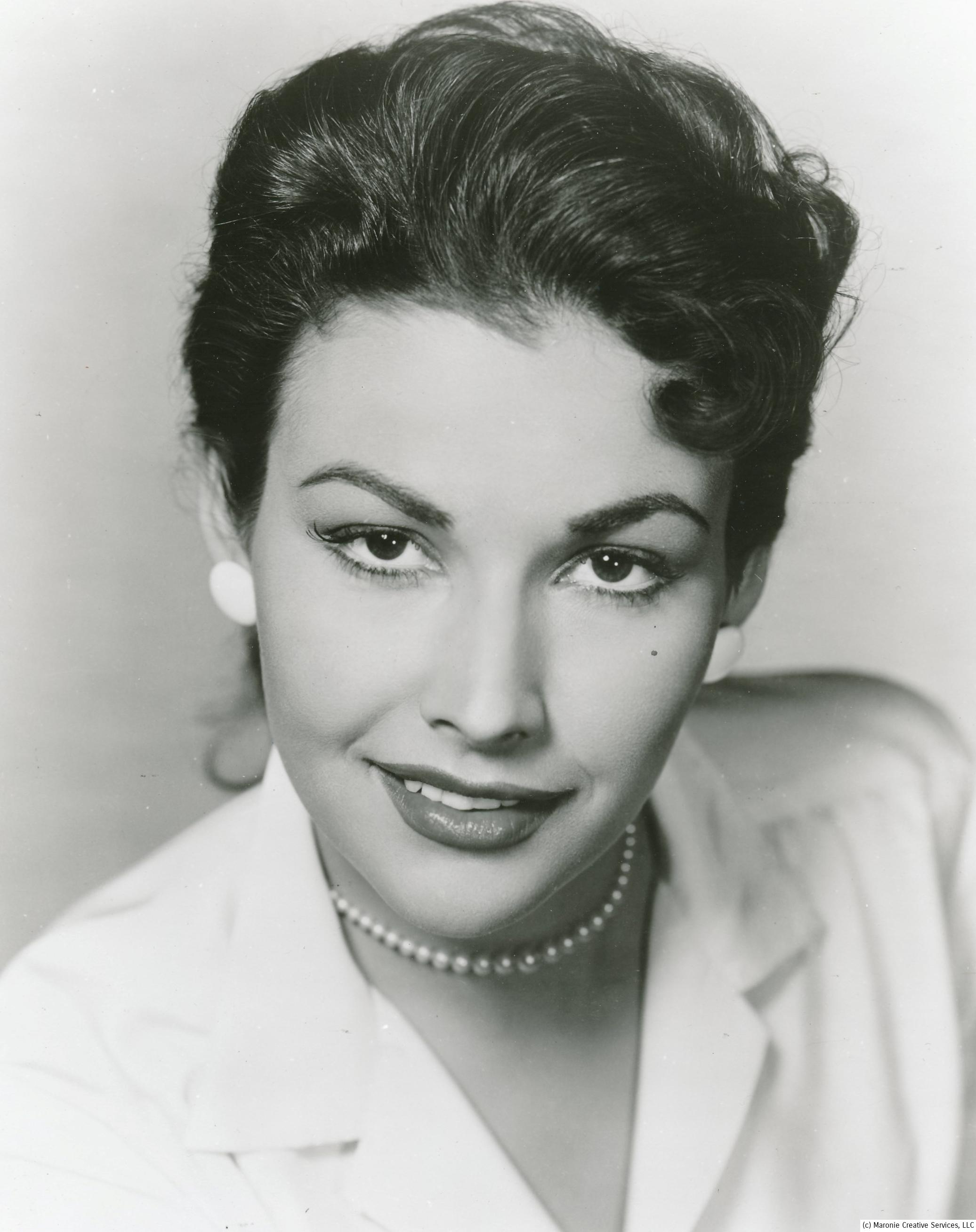 Actress Mara Corday was an Universal contract player in the 1950s. The studio threw her into a variety of different films and roles, without making much of a splash. She became friends with fellow-player Clint Eastwood, and the  filmmaker uses her in bit parts in his popular movies. In addition to Tarantula, Corday appeared in the genre classics Black Scorpion and the laughable The Giant Claw. In this film, Corday plays the stereotypical lady scientist who the here can't resist!