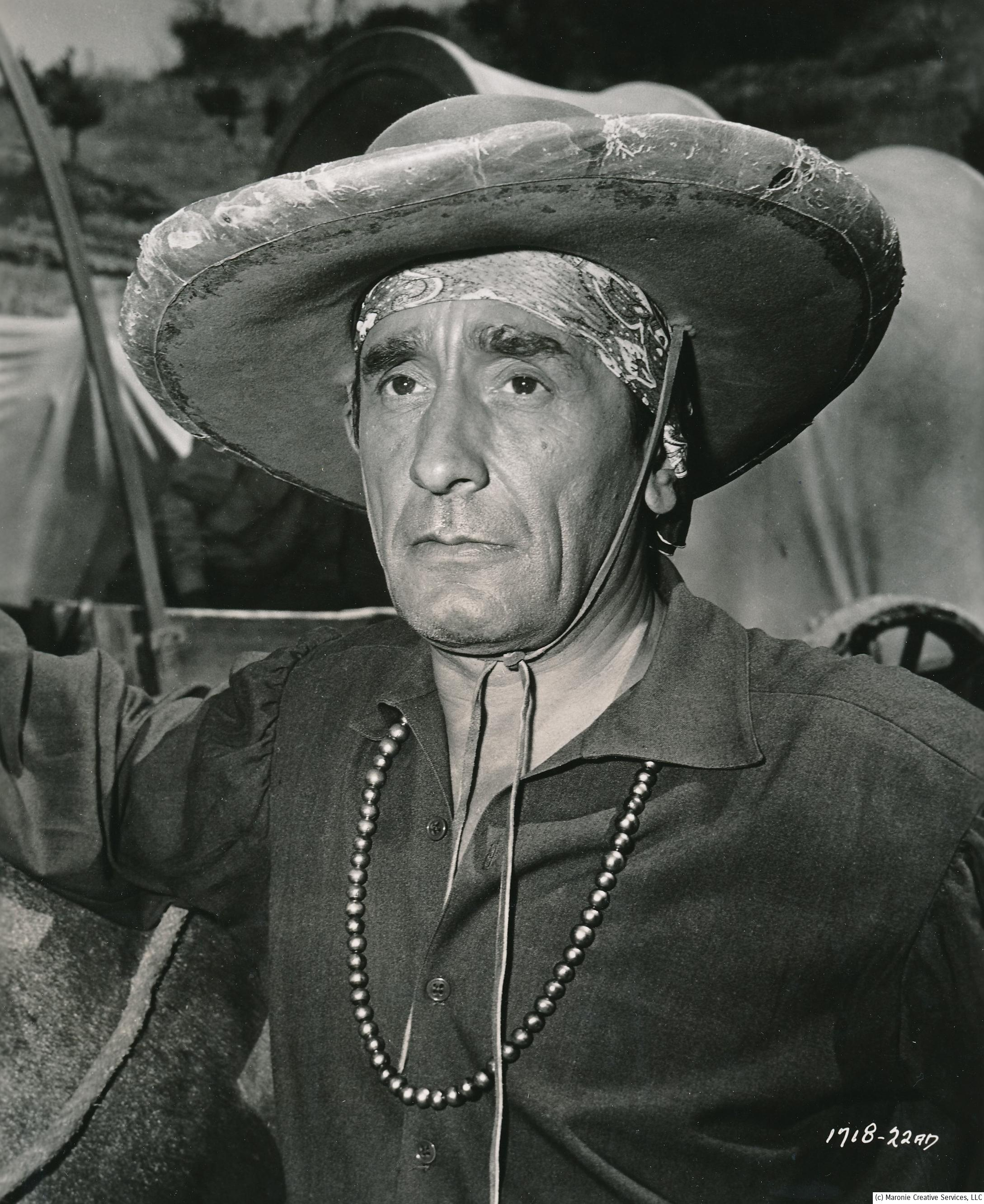 Victor Jory was one of cinema's most unforgettable faces. Not because he was particularly handsome, but more for his rough, angular features. He looks like he was born 100 years old. He worked constantly in films and TV. (c) Universal Studios