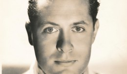 This early-1930's portrait of Robert Montgomery is from his peak years at MGM. He was one of the studio's most popular actors, later becoming a top-notch director and producer. (c) MGM