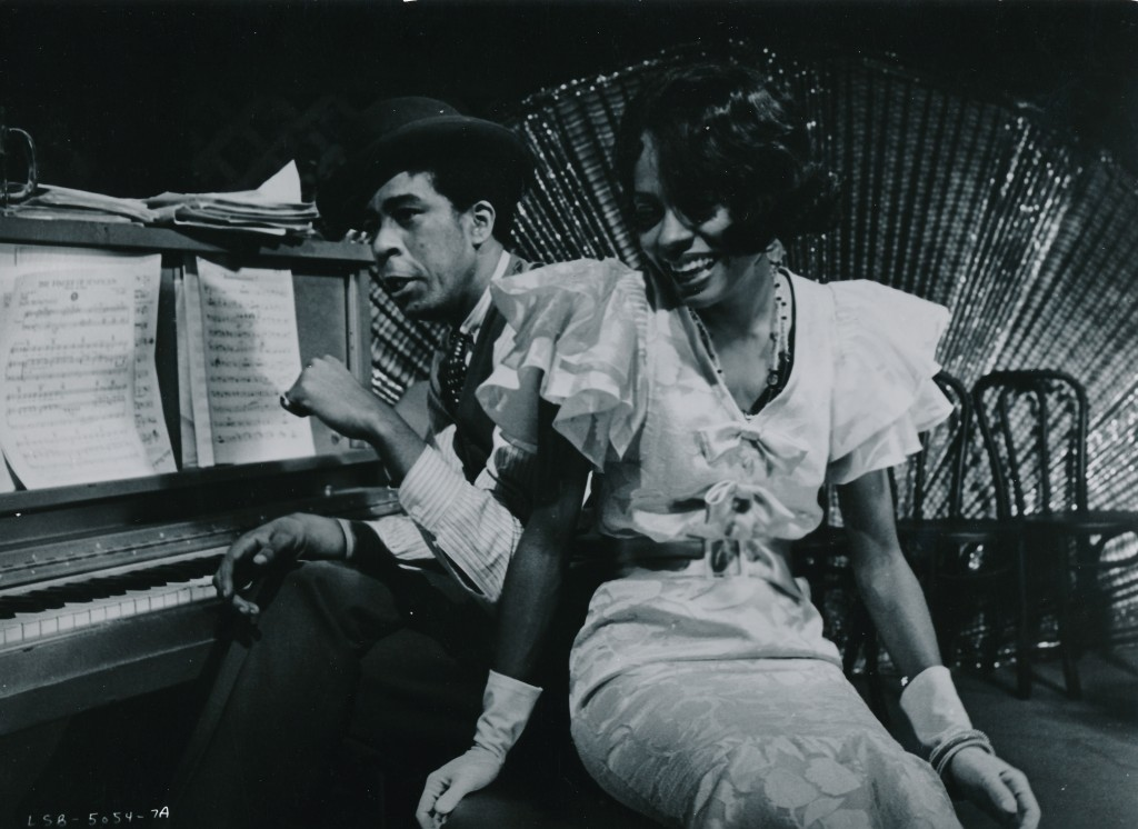 Lady Sings the Blues was a 1972 biopic of legendary singer Billie Holiday. The picture made movie stars of Ms. Ross and Richard Pryor. (c) Paramount