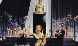Debbie Reynolds thanks her millions of fans for her Academy Award---at least her character does in the 1953 MGM musical film 'I Love Melvin'. Despite the awful title, the movie is a delight if for no other reason than to watch Ms. Reynolds and Donald O'Connor sing, dance, and otherwise entertain us royally! (c) MGM