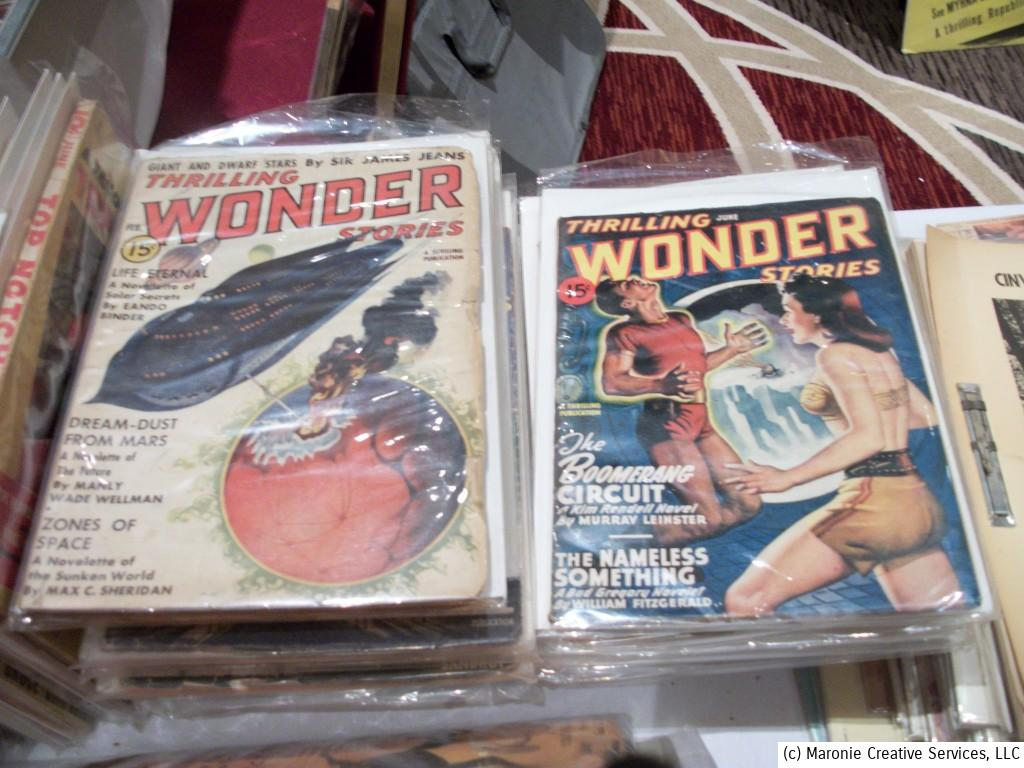Science-fiction pulps were big with collectors during Pulpfest over the weekend.