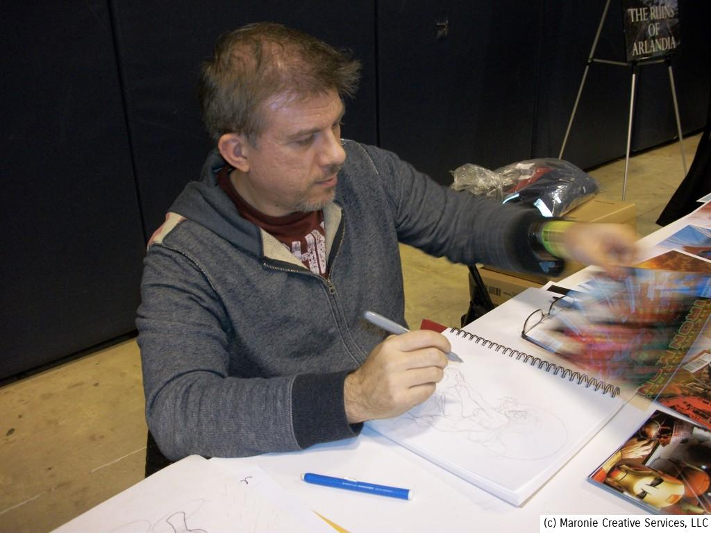 Artist Salvador Larocca is a Spanish comic-book artist. He is famous for his work on many of the X-Men titles for Marvel.