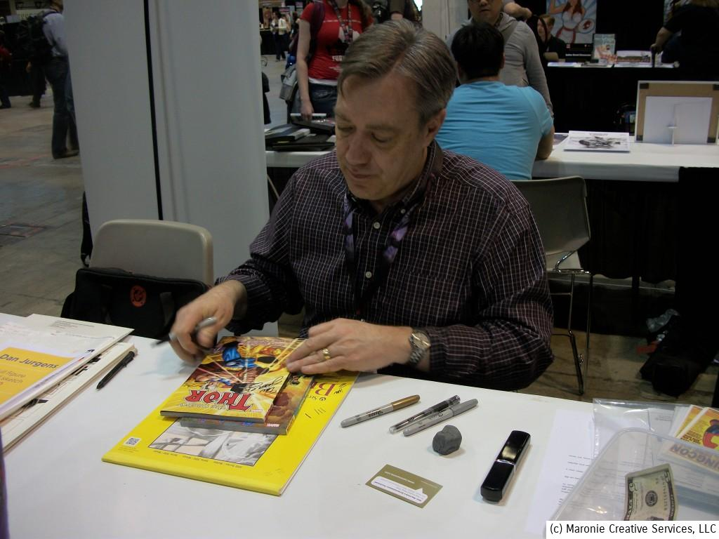 Veteran artist Dan Jurgens has been in the comics industry for years and has worked for about every publisher around.