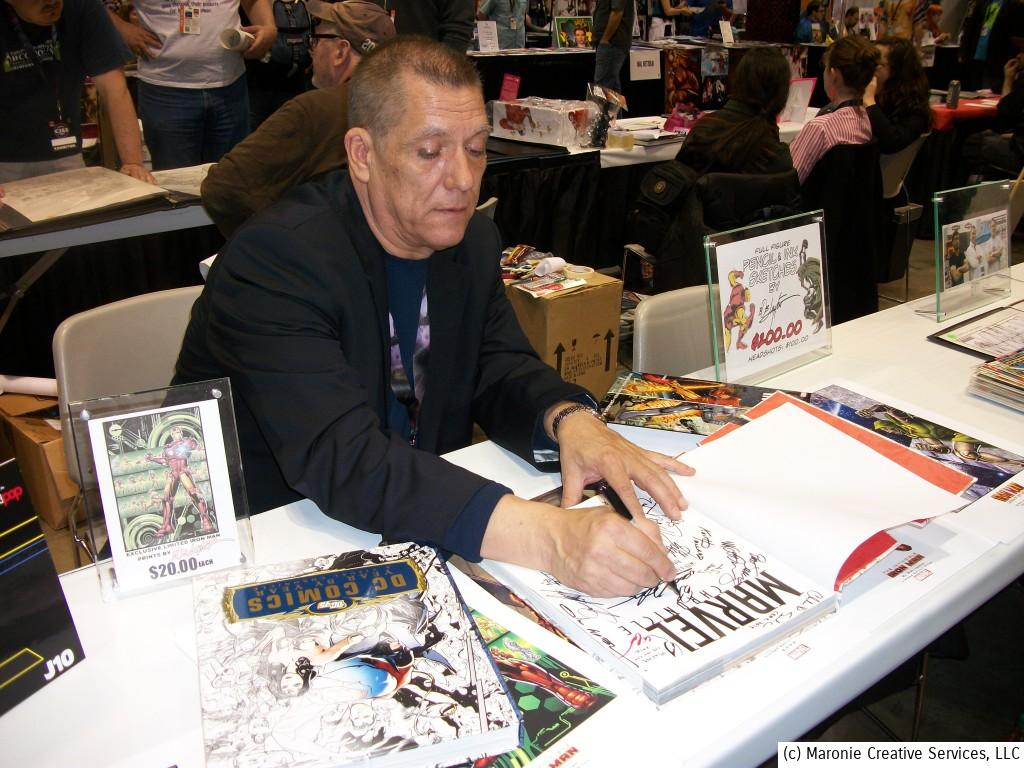 Bob Layton has done it all! Artist....editor....writer....industry excec. He's truly a many of many awesome talents. Credit Bob and writer David Michelinie for reviving Iron Man back in the 90s when the strip was facing declining sales and probably cancellation. Their fresh concepts made ol' shell-head one of Marvel's biggest stars.