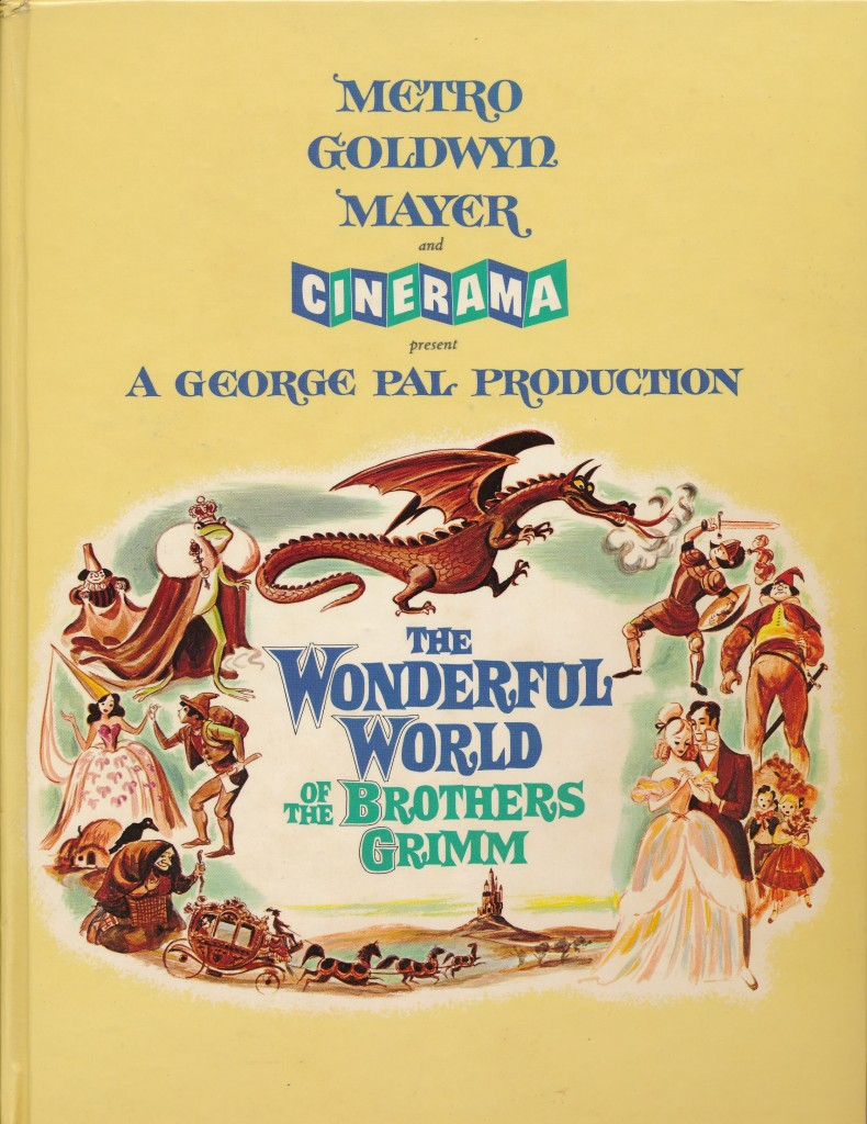 Here's the souvenir book from 'Brothers Grimm'. I see them often at bookstores and sales. It's a great memento of this novel process and well-worth your purchase! (c) MGM