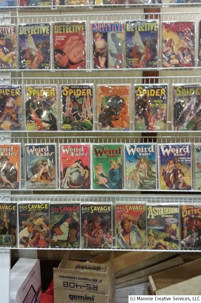 Pulps of every sort were available for sale or trade. Some of these issues can sell for hundreds of dollars each.