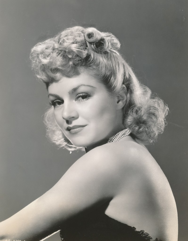 This glamorous portrait of Claire is from 1939's 'Stagecoach', co-starring John Wayne and directed by John Ford.