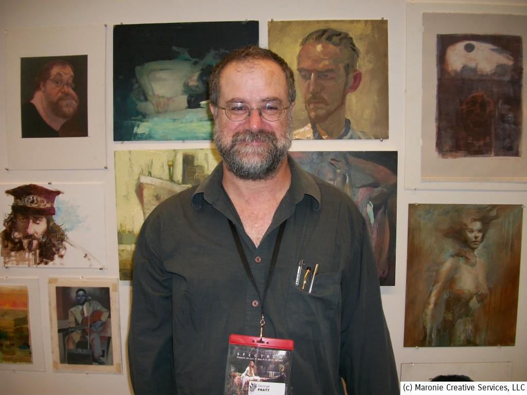 The great artist George Pratt was a surprise guest at Spectrum 2014. Pratt is one of Blogmeister Sam's favorite draftsmen! His graphic novels are legendary. Enemy Ace: War Idyll won a slew of awards and has been translated into many different languages.