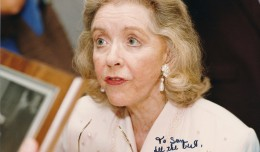 Marsha Hunt at one of the Memphis Film Festivals from the late 1990s