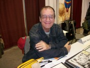 Artist Bernie Wrightson at a 2012 Kansas City Missouri convention appearance.