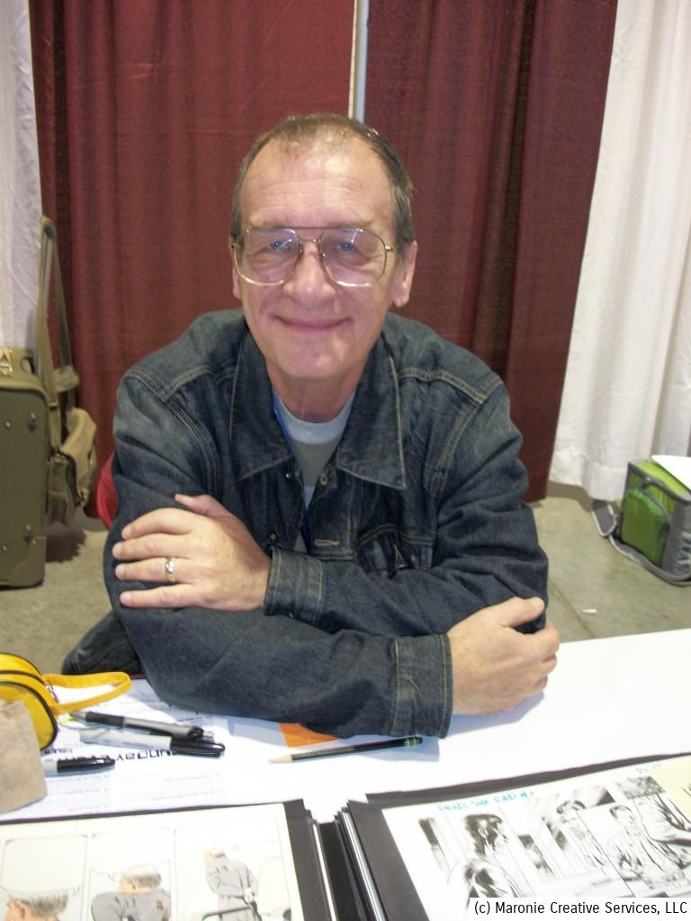 Artist Bernie Wrightson recovering from a series of small strokes.