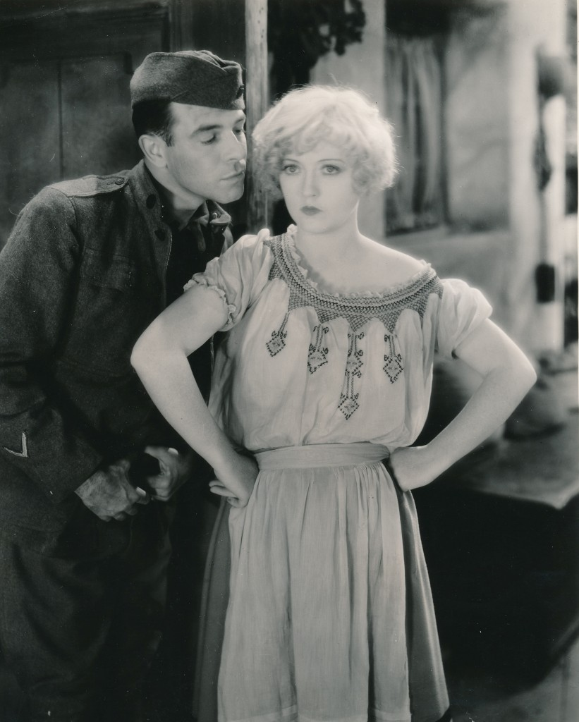 Actress Marion Davies made the film from which this still is taken, 'Marianne,' twice! It was initially lensed as a silent movie, and MGM went right back and refilmed it as a talkie! (c) MGM
