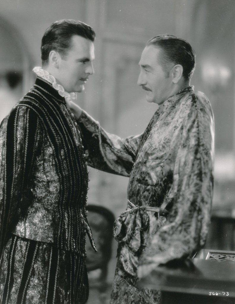 Here's a great still from another early talkie, 'The Great Lover.' This 1931 opus starred Neil 'Commissioner Gordon' Hamilton (l) and Adolph Menjou. Mr. Hamilton was only a year away from co-starring in the first Johnny Weismuller 'Tarzan' film. (c) MGM