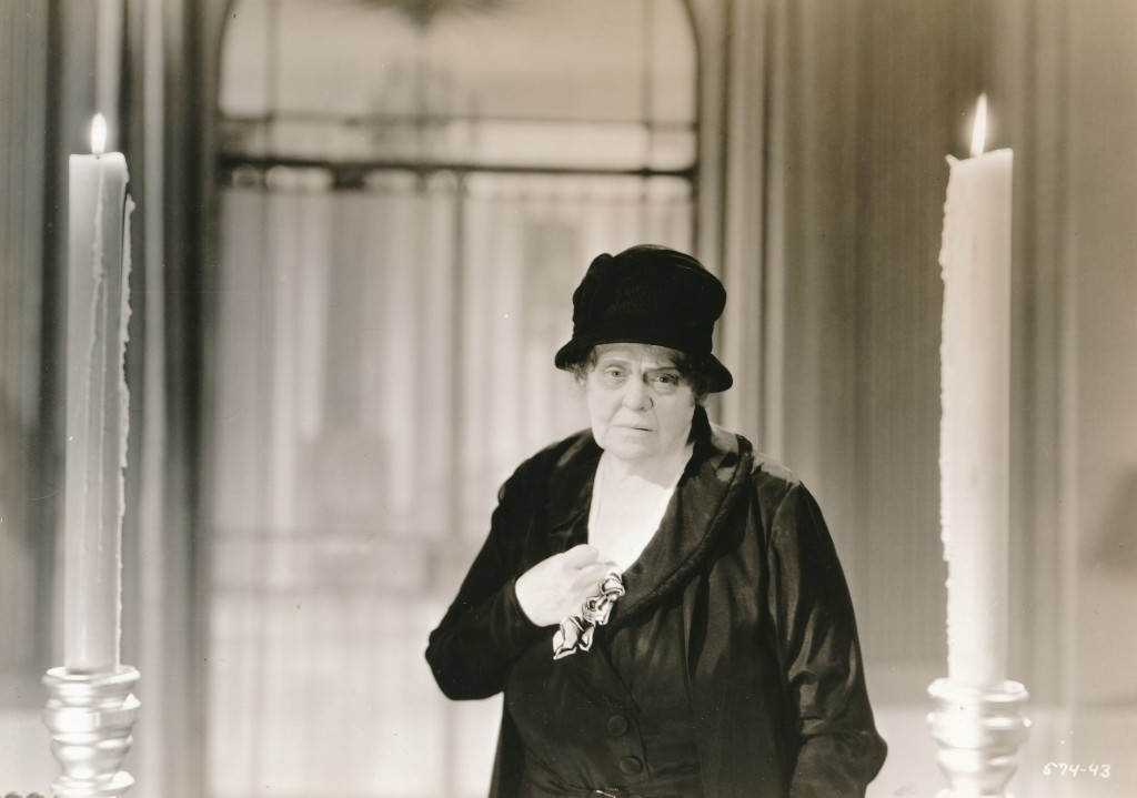Believe it or not, Marie Dressler was a huge star of early talkie films. Depression-era audiences responded to her and couldn't get enough. She was a gifted comedienne, and also an accomplished dramatic actress. Her best-known films are 'Anna Christie' with Garbo and 'Dinner at Eight,' where she held her own in an all-star cast. (c)