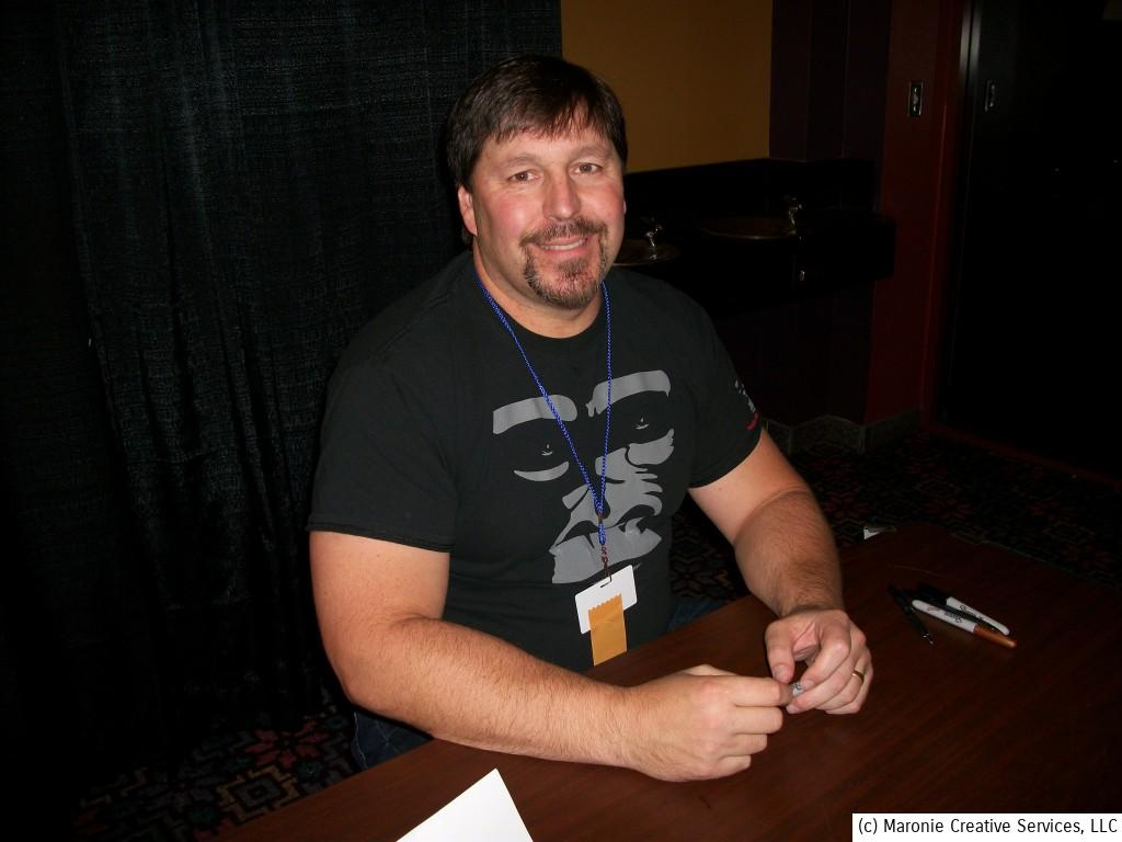 Author R. A. Salvatore was a popular guest. He drew long lines of fans during the weekend.