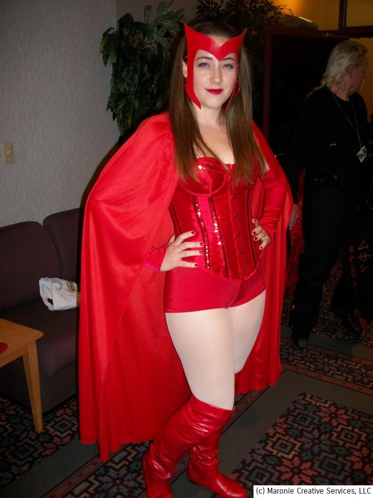 You didn't have to wait for the new Avengers movie to see the Scarlet Witch. She made a grand appearance at Archon 38.
