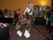 Gotta give it to this guy for cleverness! A great interpretation of one of he characters from Narnia.