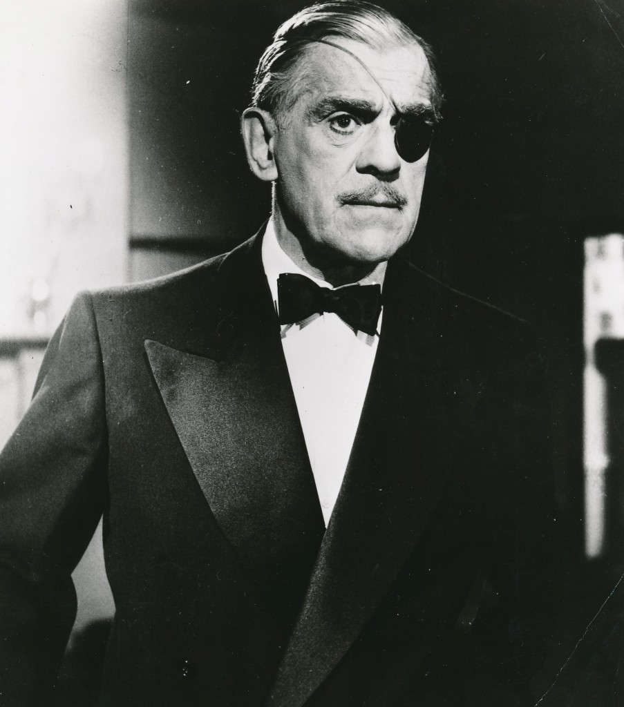 If i need to give you a list of actor Boris Karloff's monster roles, please go to the back of the line! The iconic horror star is featured in this photo from the syndicated British TV show 'Colonel March of Scotland Yard.' Even as a good guy, he still exudes an air of menace!