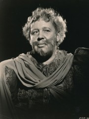 Here's a beautiful MGM portrait still of the great Charles Laughton from his role as 'The Canterville Ghost.' Laughton never really played monsters, but he was in some fine fright features like 'The Island of Lost Souls, 'The Hunchback of Notre Dame' and a couple of others. (c) MGM