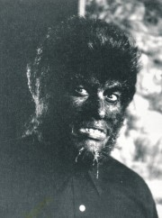 This autographed still is unidentified, but methinks it is probably from one of his 'El Hombre Lobo' series of films.