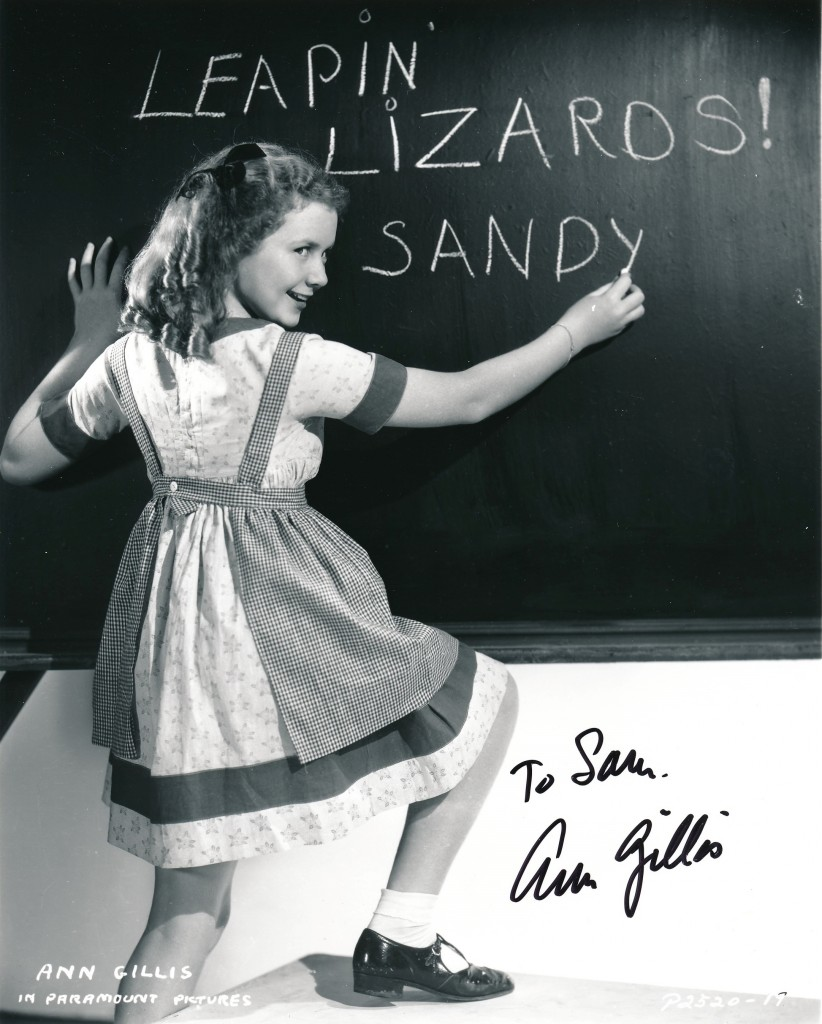 Ann Gillis stared as the Red-Haired Wonder in a 1938 version of the hugely popular comic-strip. Has anyone out there seen this? (c) Paramount