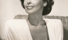 A lovely MGM glamour portrait of Lena Horne, probably from the late 1940s. (c) MGM