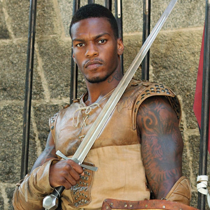 As one of the 'paladins,' actor Shondo Blades is thrust into a scripted fantasy world that involves out-of-this-world challenges to his reality compadres. (c) ABC